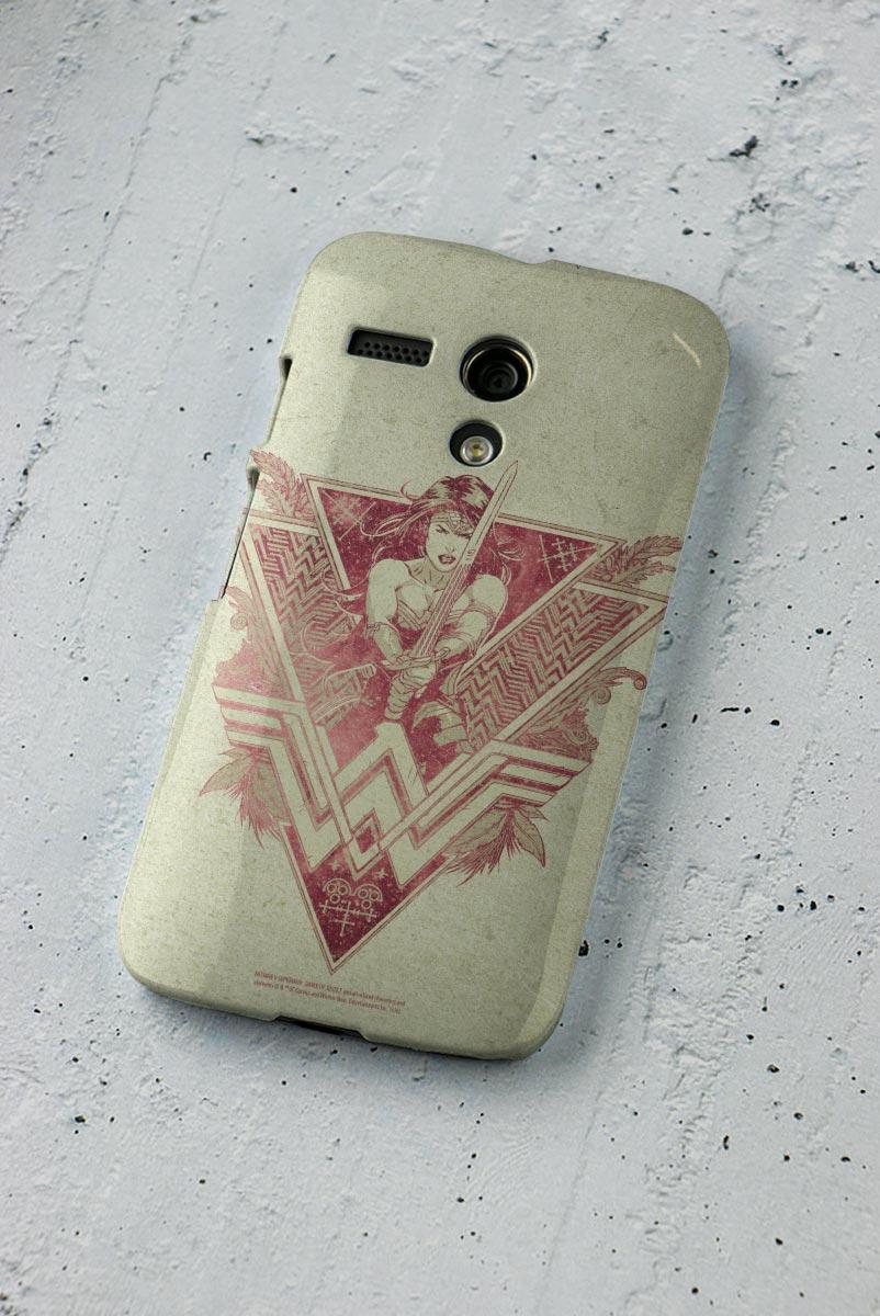 Capa para Motorola Moto G 1 Wonder Woman Warrior
