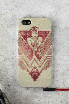 Capa para iPhone 5/5S Wonder Woman Warrior