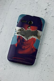 Capa para Motorola Moto G 1 Batman VS Superman Man VS God