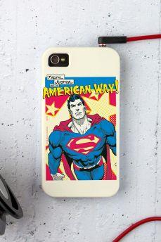 Capa para iPhone 4/4S Superman Verdade, Justiça ao Jeito Americano