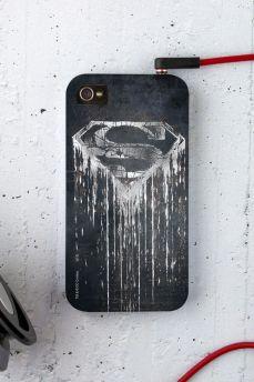 Capa para iPhone 4/4S Superman Steel Melting