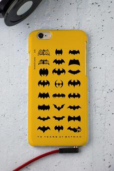 Capa para iPhone 6/6S Batman 75 Anos Logos Collection