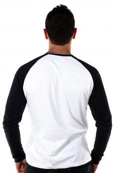 Camiseta Manga Longa Raglan Masculina Coringa Card