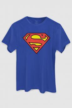 Camiseta Masculina Superman Logo Oficial