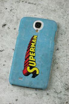 Capa de Celular Samsung Galaxy S4 Superman Logo Clássico