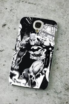 Capa de Celular Samsung Galaxy S4 Tracing Batman