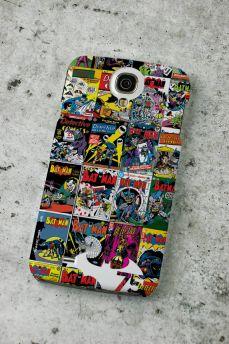 Capa de Celular Samsung S4 Batman 75 Anos HQ