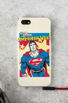 Capa para iPhone 5/5S Superman Verdade, Justiça ao Modo Americano