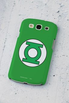 Capa para Samsung Galaxy S3 Lanterna Verde Logo