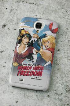 Capa para Samsung Galaxy S4 Women Unite for Freedom