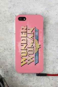 Capa Para iPhone 5/5S Power Girls Mulher Maravilha 2
