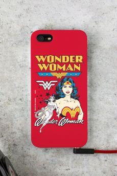 Capa para iPhone 5/5S Power Girls Mulher Maravilha