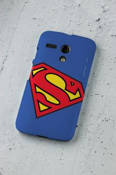 Capa para Motorola Moto G 1 Superman Logo Oficial