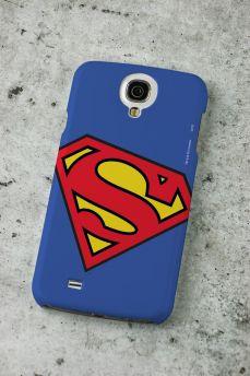 Capa para Samsung Galaxy S4 Superman Logo Oficial