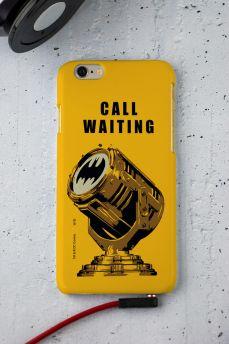 Capa para iPhone 6/6S Batman Chamada em Espera