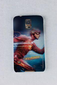 Capa para Samsung Galaxy S5 The Flash Serie Running