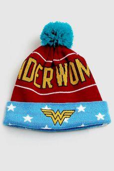 Gorro Wonder Woman Logo