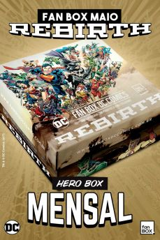 Fan Box DC Comics Hero Box Mensal