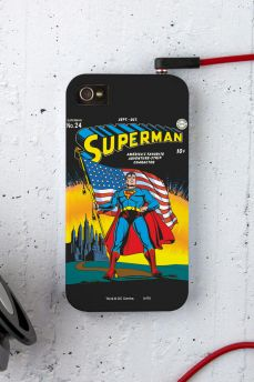 Capa para iPhone 4/4S Superman HQ Nº24