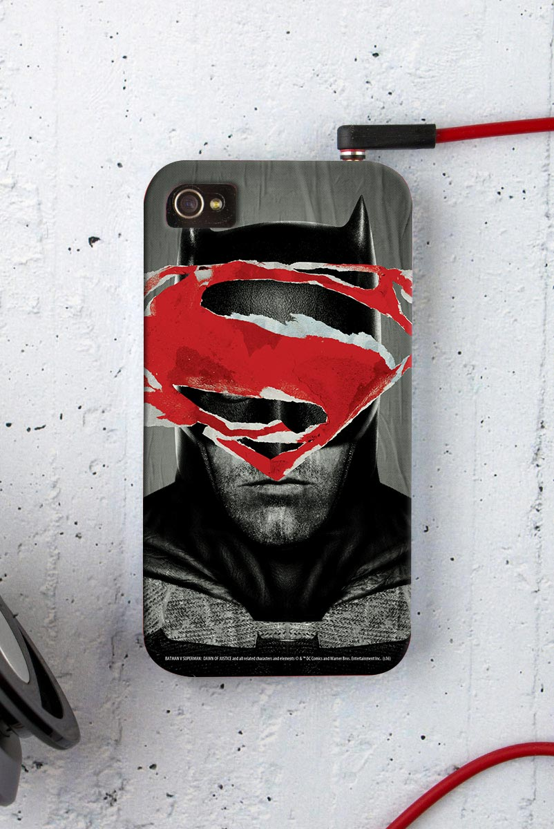 Capa para iPhone 4/4S Batman VS Superman Day VS Night