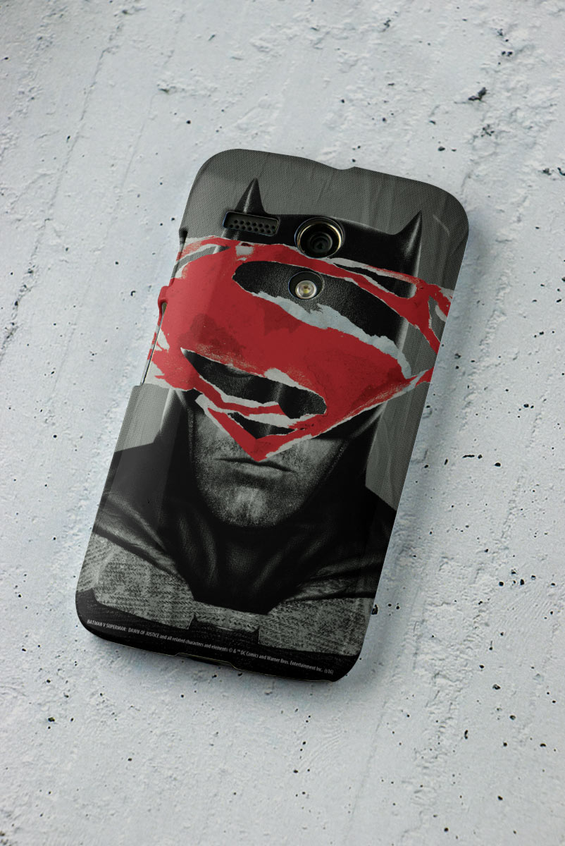 Capa para Motorola Moto G 1 Batman VS Superman Day VS Night