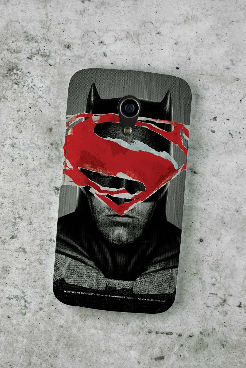 Capa para Motorola Moto G 2 Batman VS Superman Day VS Night