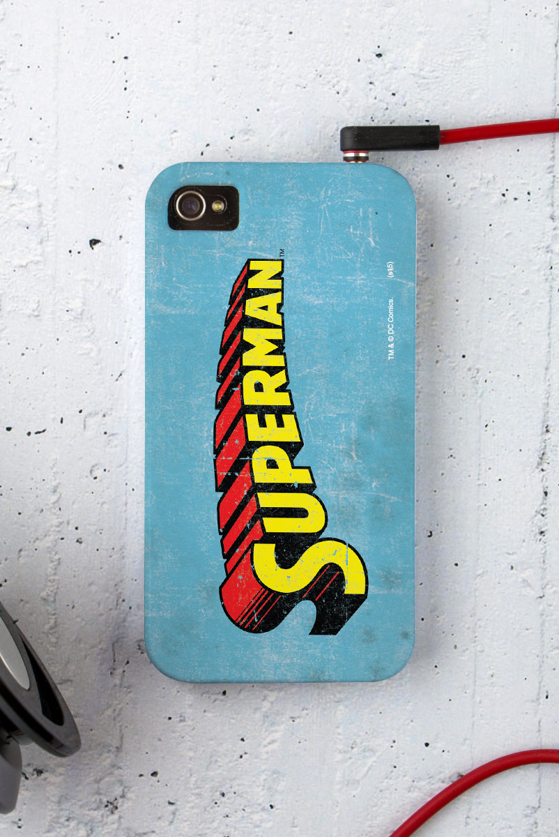 Capa para iPhone 4/4S Superman Logo Clássico