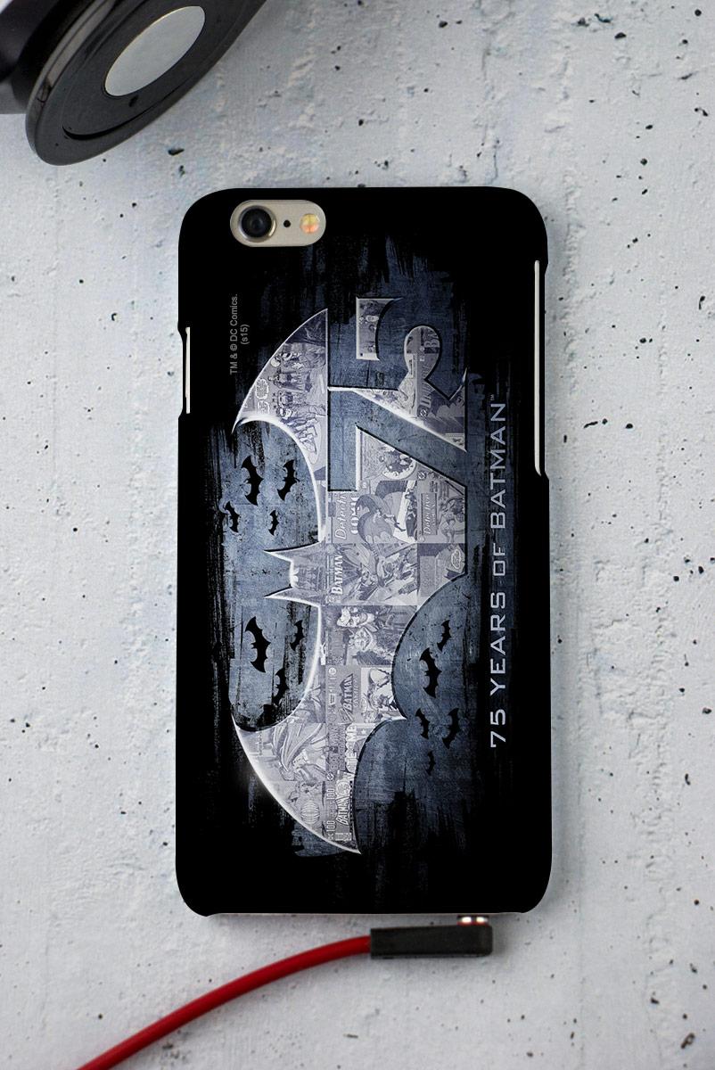 Capa para iPhone 6/6S Batman 75 Anos Logo 2