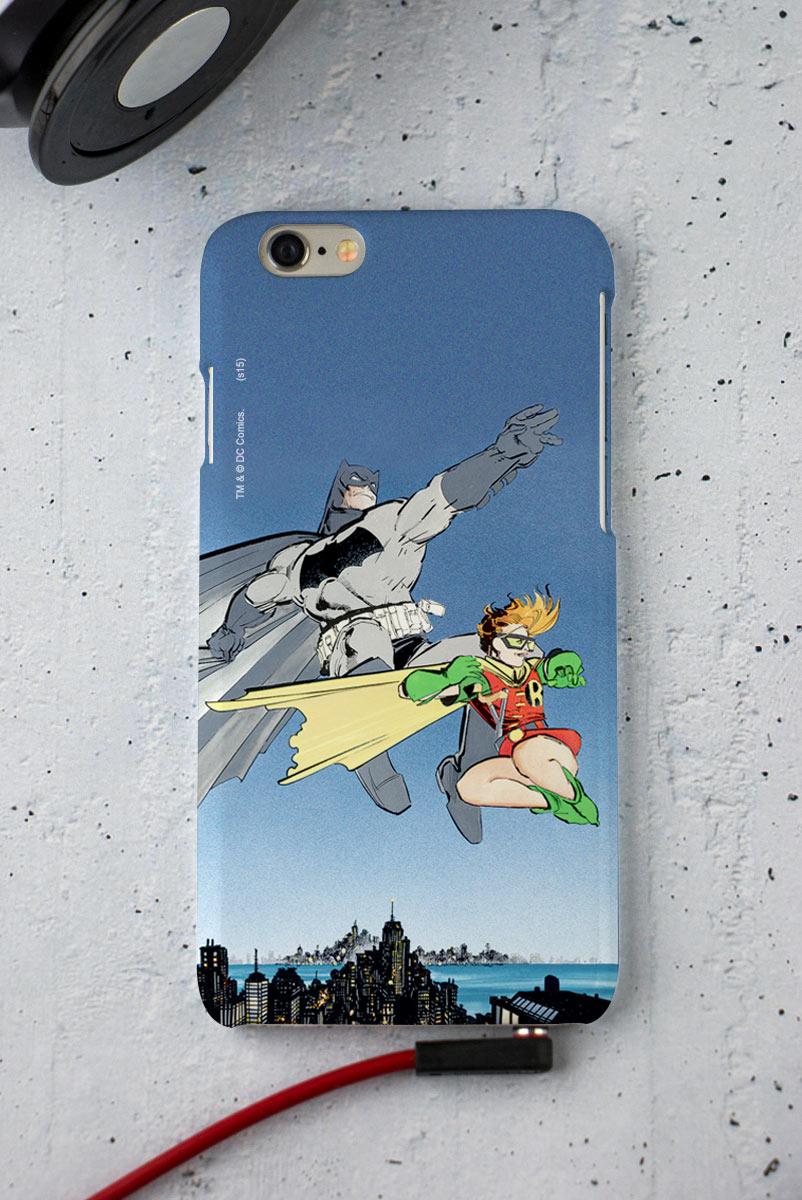 Capa para iPhone 6/6S Tracing Batman e Robin
