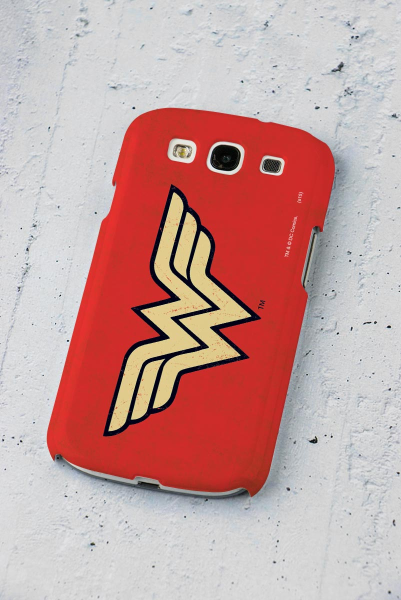 Capa de Celular Samsung Galaxy S3 Power Girls Wonder Woman
