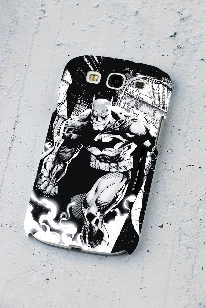 Capa de Celular Samsung Galaxy S3 Tracing Batman