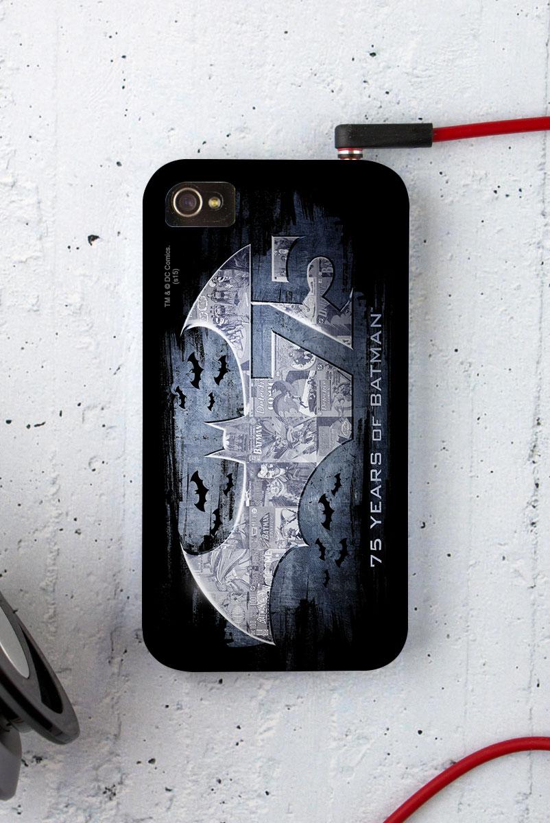 Capa para iPhone 4/4S Batman 75 Anos Logo 2