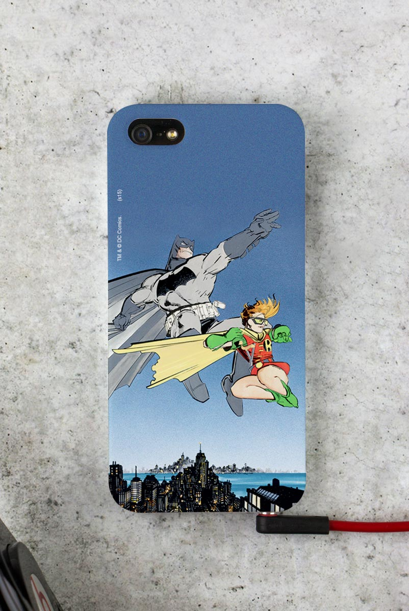 Capa para iPhone 5/5S Batman e Robin