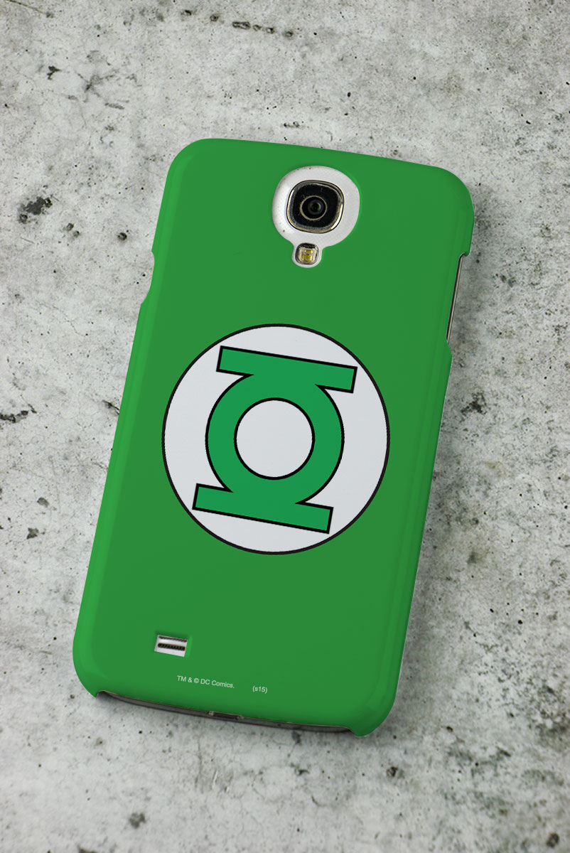 Capa para Samsung Galaxy S4 Lanterna Verde Logo