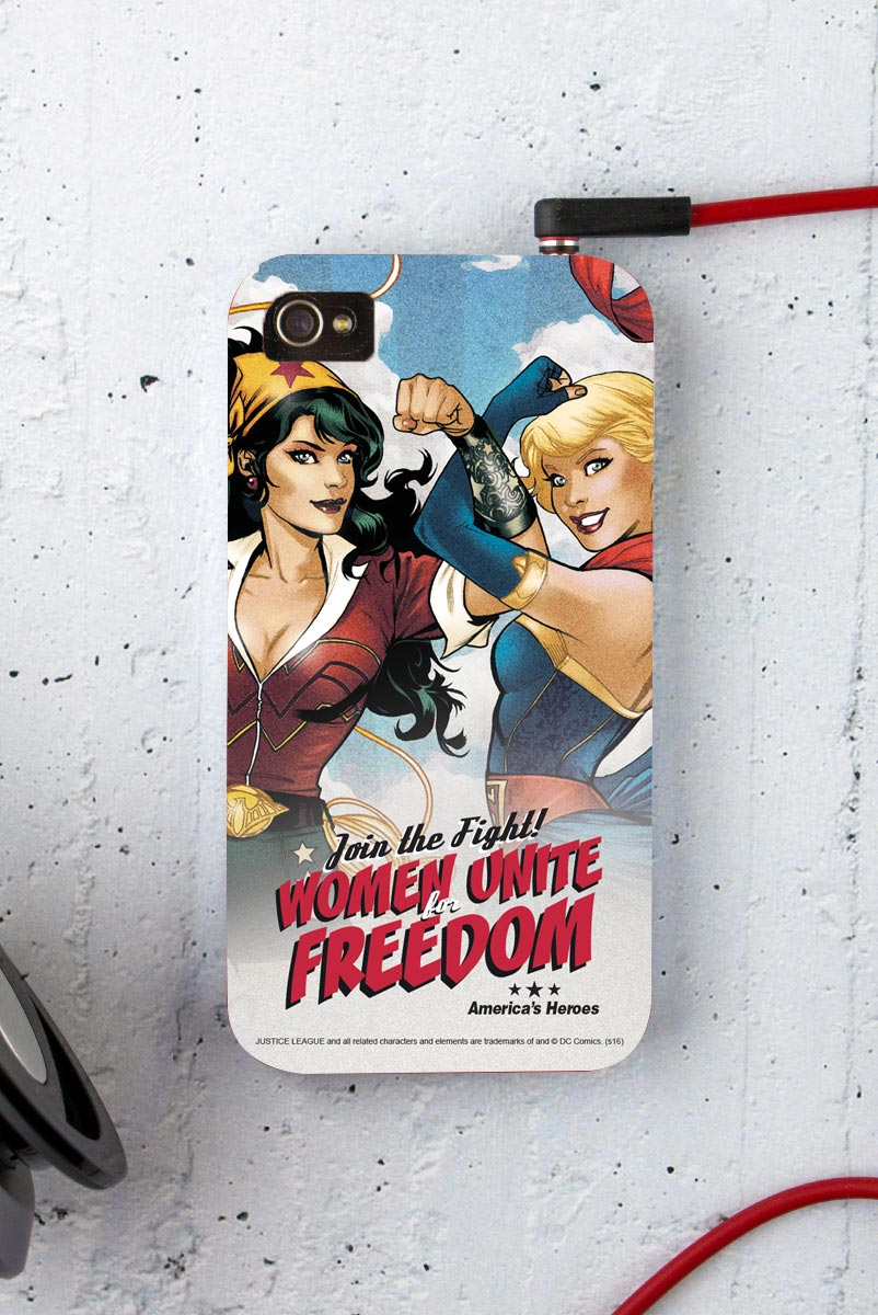 Capa para iPhone 4/4S Women Unite for Freedom