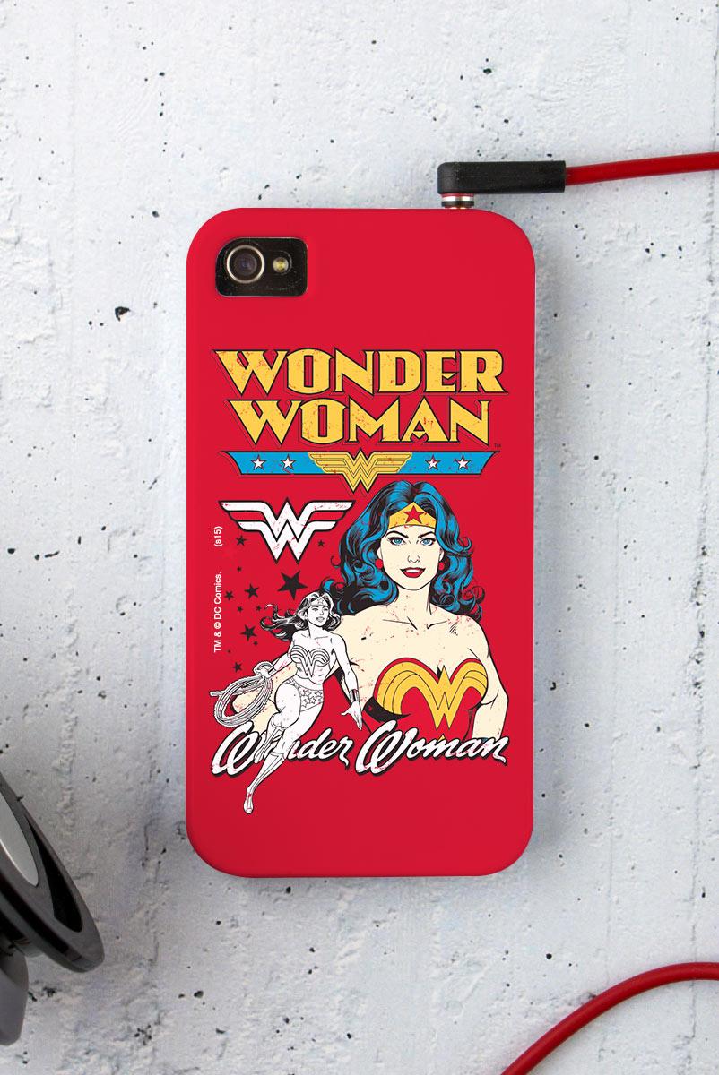 Capa para iPhone 4/4S Power Girls Mulher Maravilha