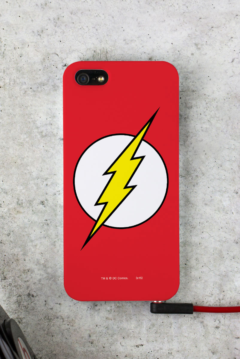 Capa para iPhone 5/5S The Flash Logo