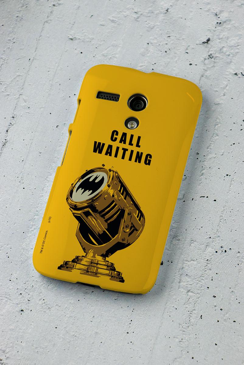 Capa para Motorola Moto G 1 Batman Chamada em Espera