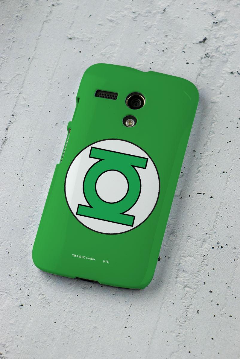 Capa para Motorola Moto G 1 Lanterna Verde Logo