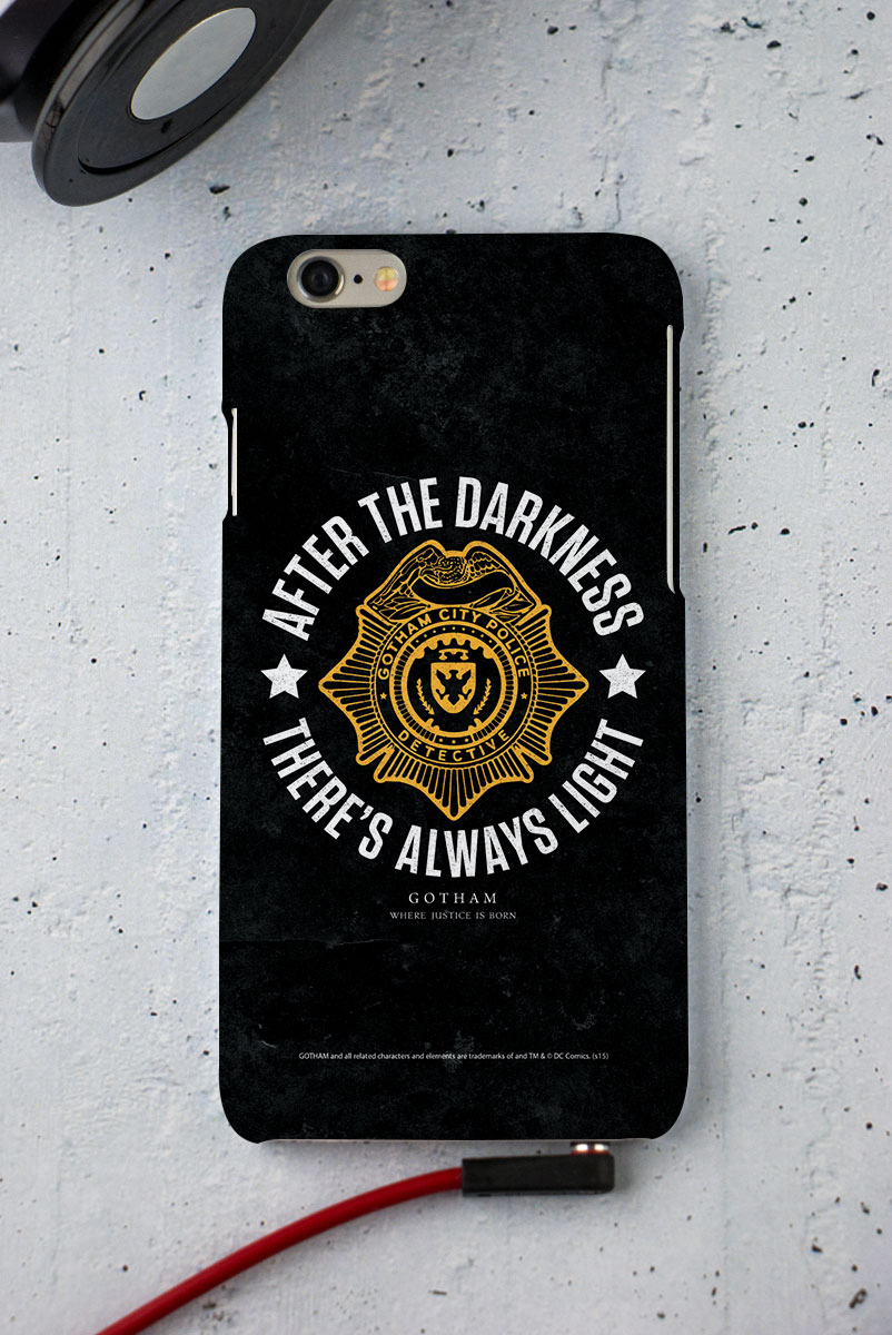 Capa para iPhone 6/6S Gotham There´s Always Light