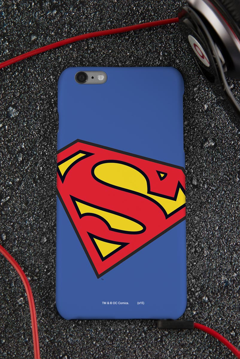 Capa para iPhone 6/6S Plus Superman Logo Clássico