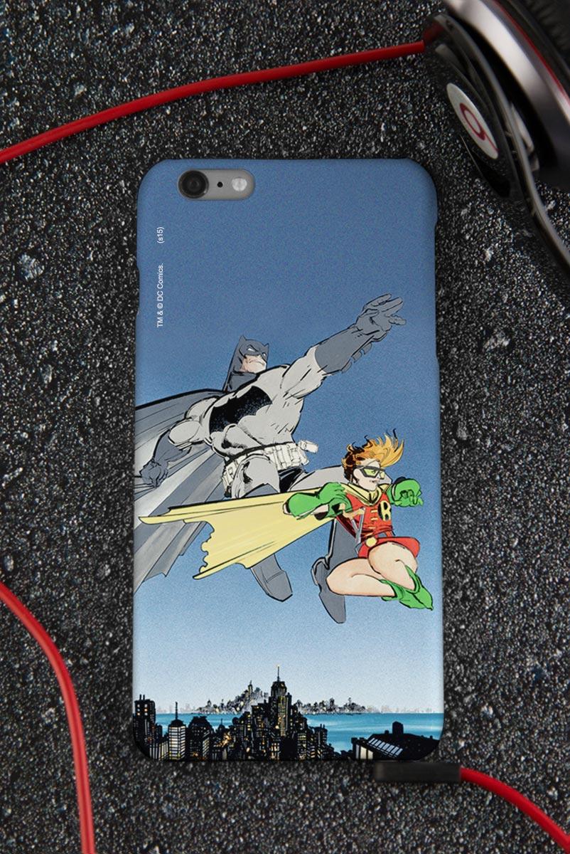 Capa para iPhone 6/6S Plus Batman e Robin