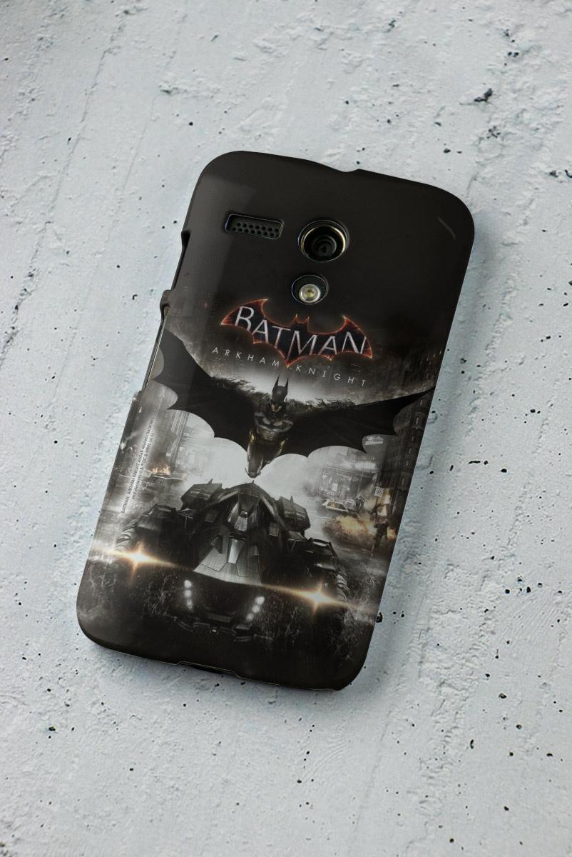 Capa para Motorola Moto G 1 Batman Arkham Knight Action