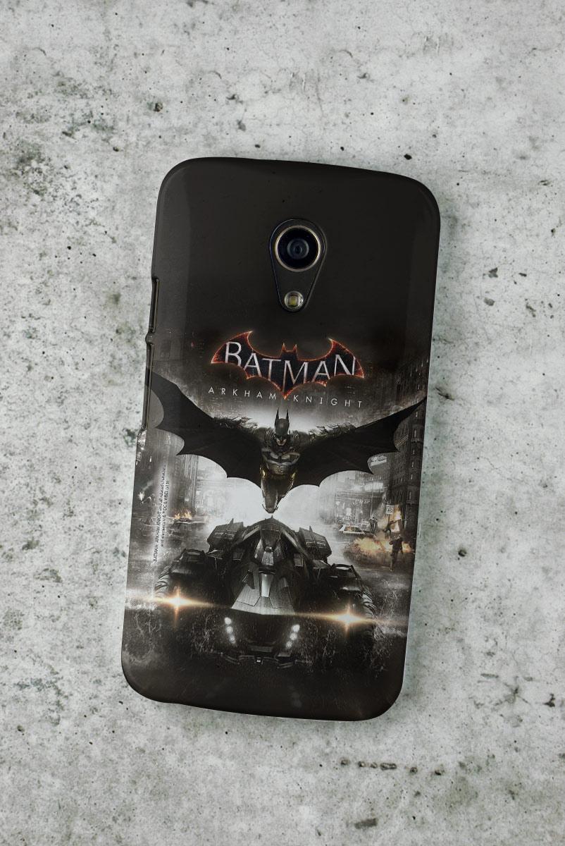 Capa para Motorola Moto G 2 Batman Arkham Knight Action