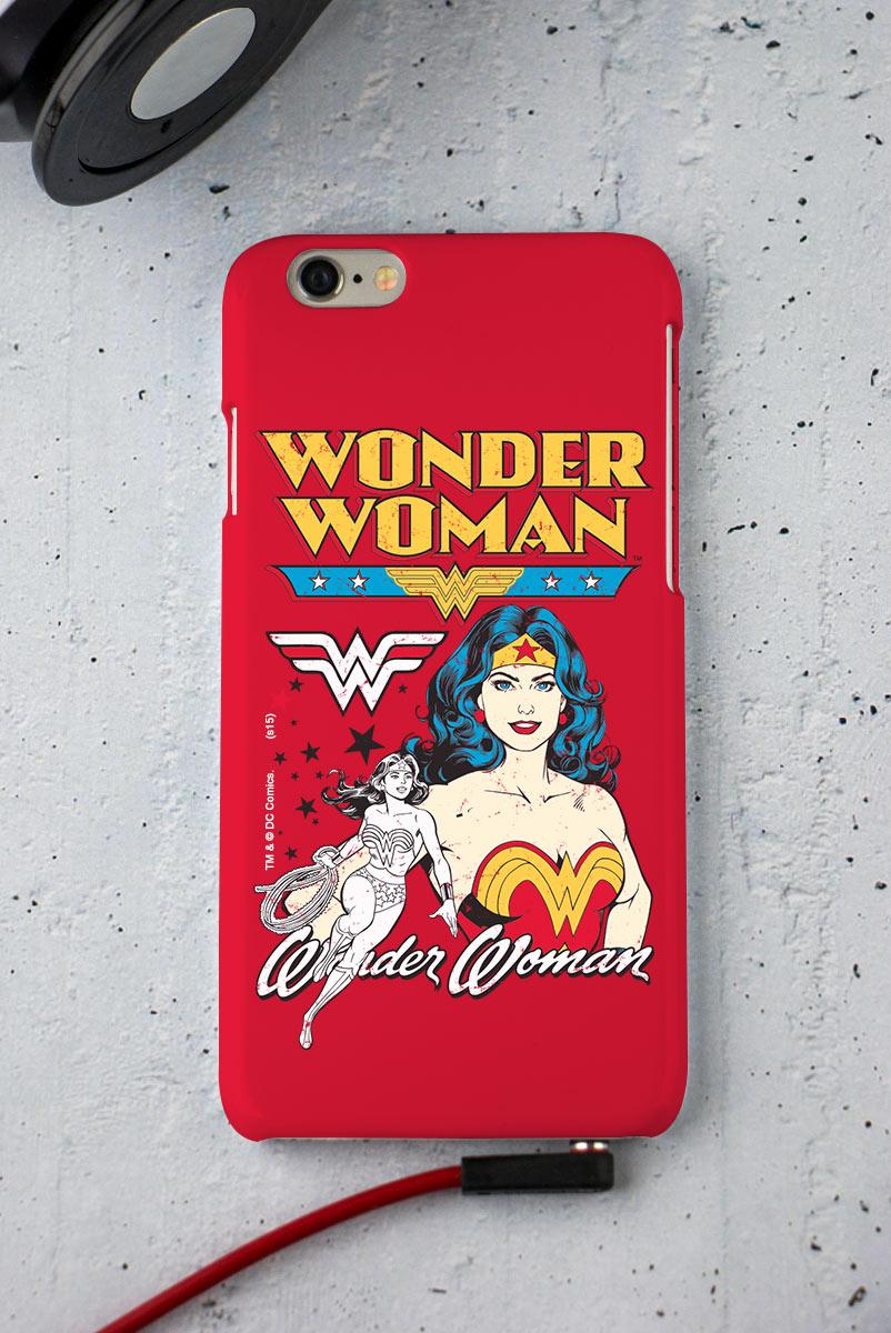 Capa para iPhone 6/6S Mulher Maravilha