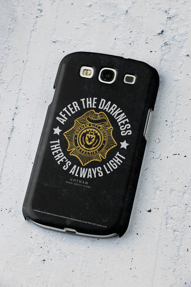Capa para Samsung Galaxy S3 Gotham There´s Always Light