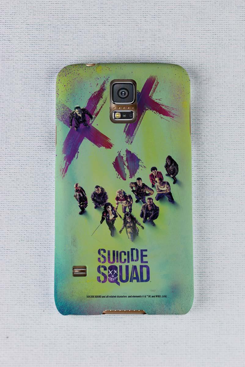 Capa para Samsung Galaxy S5 Esquadrão Suicida Taskforce X