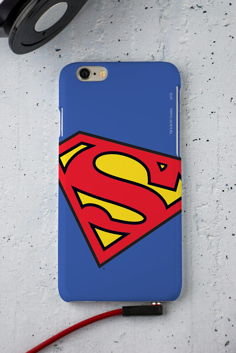 Capa para iPhone 6/6S Superman Logo Oficial