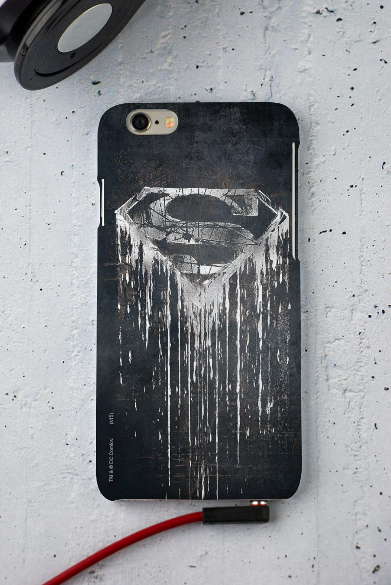 Capa para iPhone 6/6S Superman Steel Melting