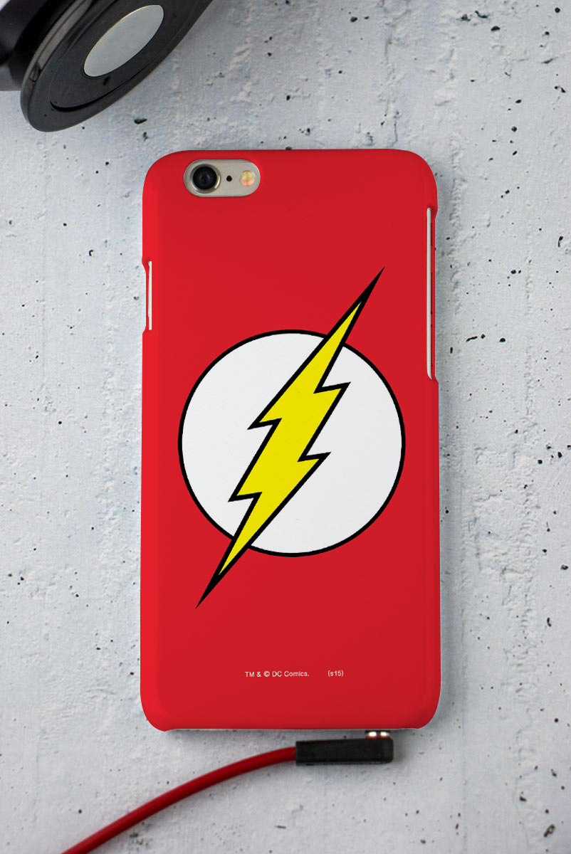 Capa para iPhone 6/6S The Flash Logo